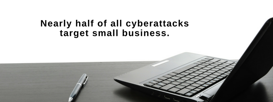 Nearly half of all cyberattacks target small business